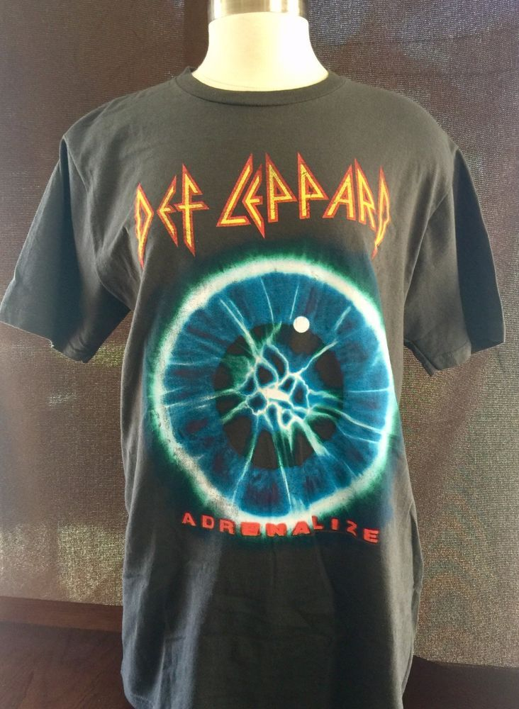 Def Leppard Live Nation 7 Day Weekend Tour 1993 Adrenalize NWT Concert RockTour  #LiveNation #GraphicTee