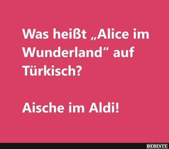 "Was heißt ""Alice im Wunderland"