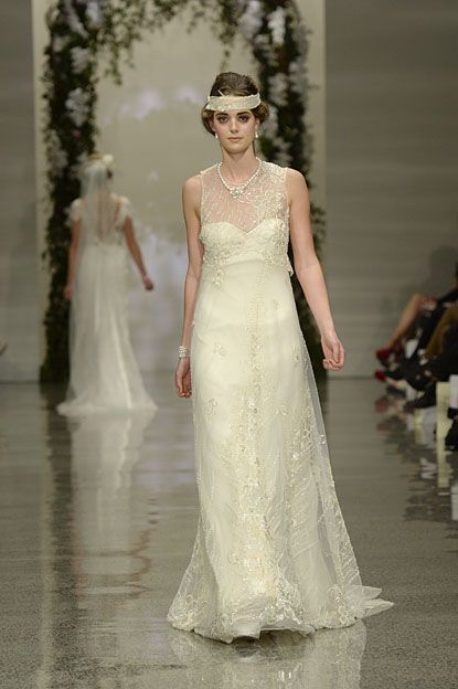 Robyn Cliffe Wedding gown. Vintage, golden lace gown.