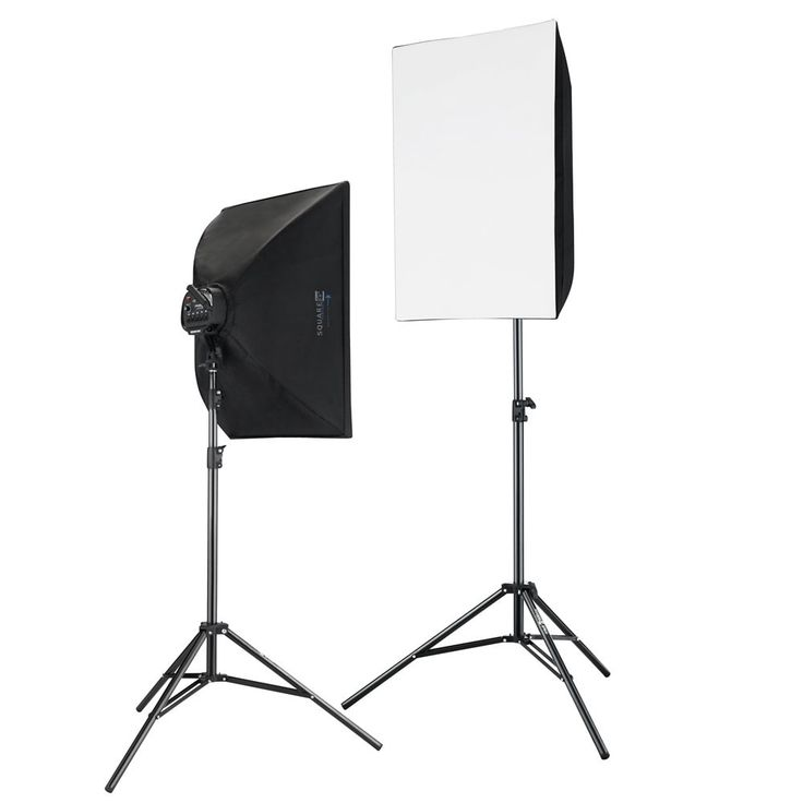 International 2000 Watt Photography and Digital Video Continuous Light Kit with 2 light stands