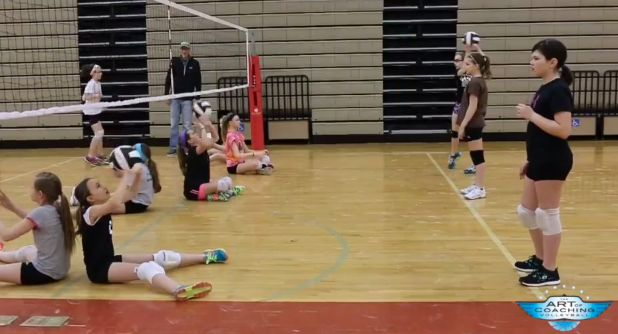 Youth setter training progression