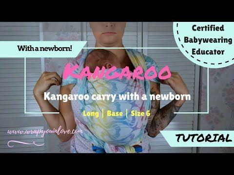 Kangaroo carry newborn
