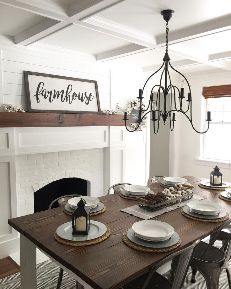 Farmhouse Dining Room @angelarose_diyhome