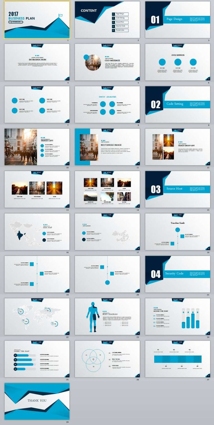 business plan sample ppt