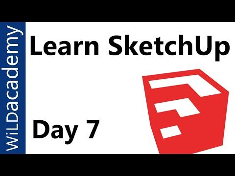 SketchUp Tutorial - 7 - SketchUp Shortcuts - YouTube