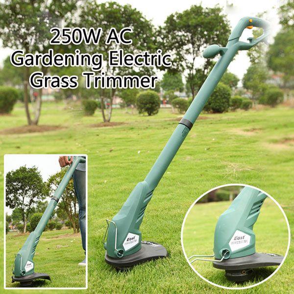 East 250W Electric Grass Trimmer Lawnmower Pruner Garden Power Tool