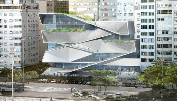 Diller Scofidio + Renfro – Museu da Imagem e do Som – RJ   concursosdeprojeto.org