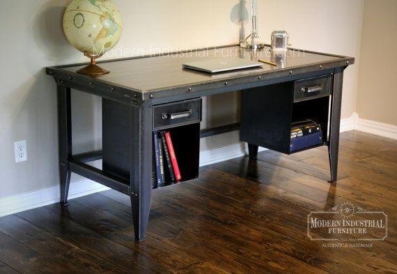 M s de 25 ideas incre bles sobre escritorios antiguos en - Muebles industriales antiguos ...