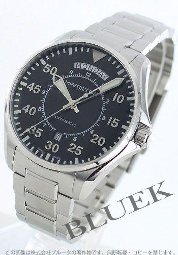【5年保証付】ハミルトン カーキ パイロット オートマチック デイデイト ブラック メンズ H64615135【あす楽対応】【腕時計】【時計】【楽天市場】