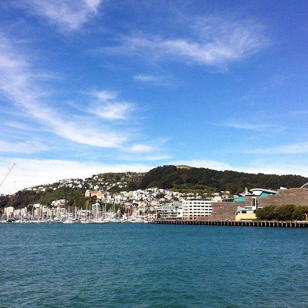 Wellington Harbour, New Zealand
