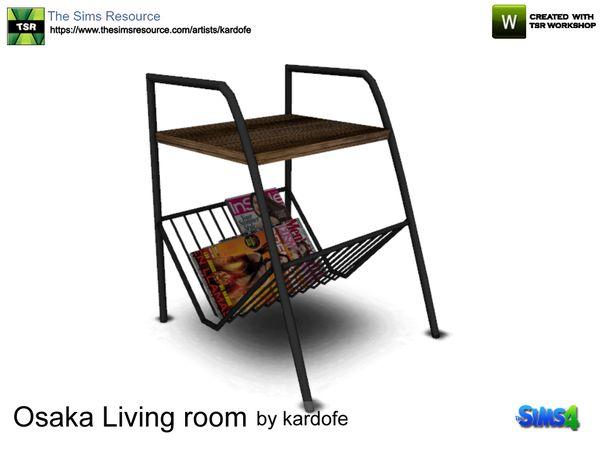 Kardofe_Osaka Living Room_Magazine Rack
