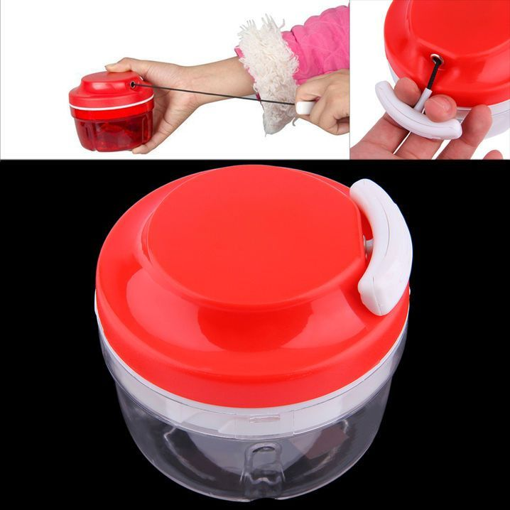 Kitchen Food Chopper Dicer Slicer Meat Cutter Mixer Salad Crusher Gadget E0