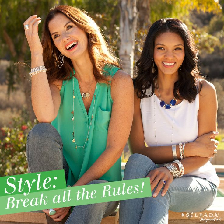 Throw those #fashion rules out the window: 3 style rules we love to break! | Silpada Blog #WomensFashion