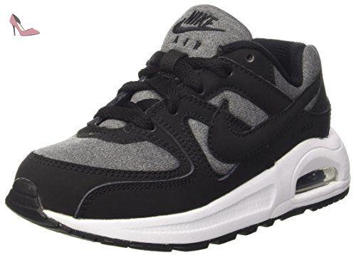 Nike Air Max Command Flex (PS), Chaussures de Running Garçon, Noir / Noir-Blanc, 30 EU - Chaussures nike (*Partner-Link)