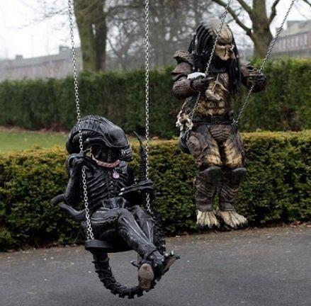 Alien And Predator Costumes