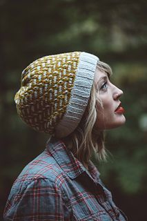 """""""Tincture,"""" by Andrea Mowry, knit with Brooklyn Tweed Arbor."""