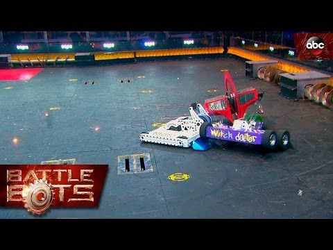 Bite Force vs. Witch Doctor vs. Wrecks - BattleBots - YouTube