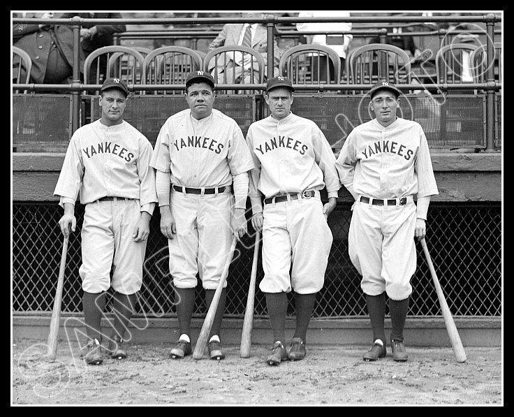 Baseball Murderer's Row