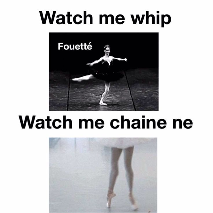Fouetté means to whip!