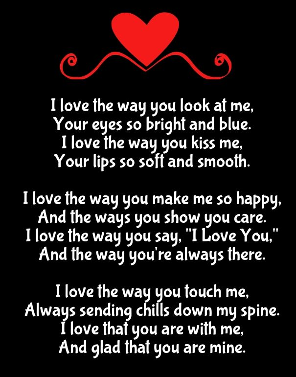 365 Ways To Say I Love You Quotes : quotes love you poems romantic poems why i love you moon quotes ...
