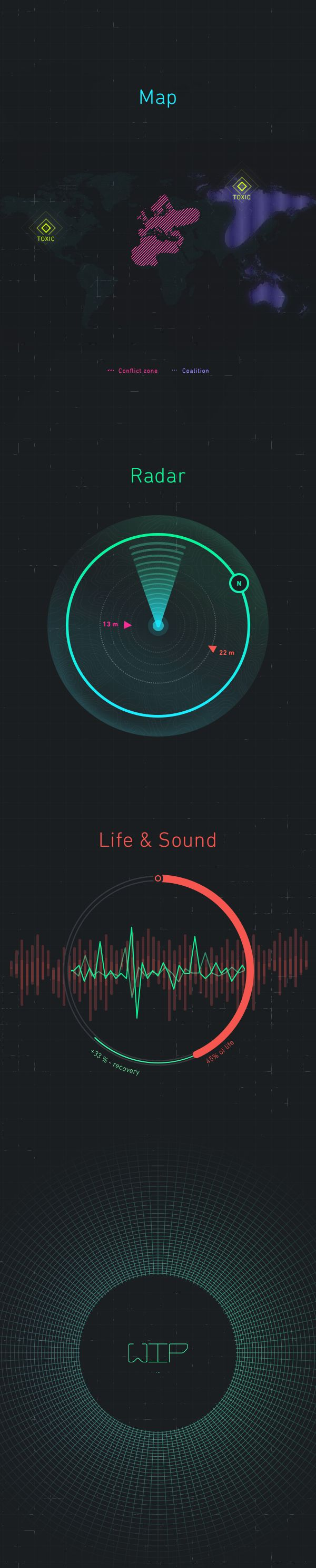 Game Interface 2 [WIP] on Behance
