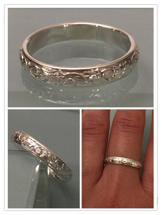Sterlin Silver Ring Sterling Silver Thumb Ring Stacking Ring