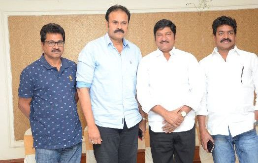 Rajendra Prasad Naga babu Press meet - Teluguabroad