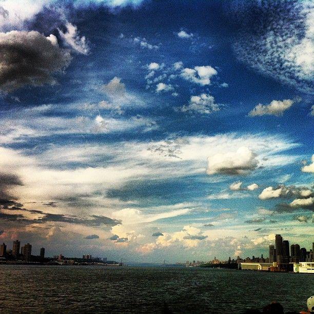 New York Manhattan  Hudson river NYC .@marcel_tettero (Marcel Tettero) 's Instagram photos | Webstagram - the best Instagram viewer