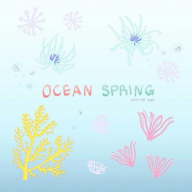 #illustration #illust #spring #ocean #bluespring #underthesea #cute #OCEANSPRING #海 の #春 #海の中 #マリン #aqua #aquarius  #바다 #봄 #봄바다 #봄이왔어요 #봄그림그램   Copyright ©Mihye-Kim All copyrights reserved