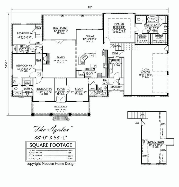 25 best ideas about acadian house plans on pinterest for Madden house plans