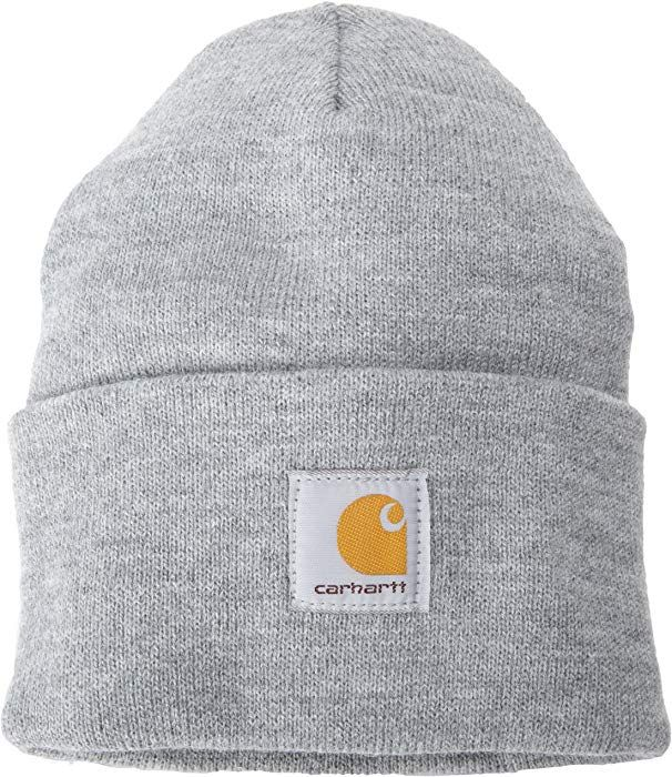 Carhartt Acrylic Thick Knit Durable Warm Winter Snow Hat Hats Beanie