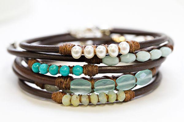 love these bracelets.....