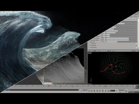 Houdini Tutorial: Create continuous waves with fliptank - YouTube