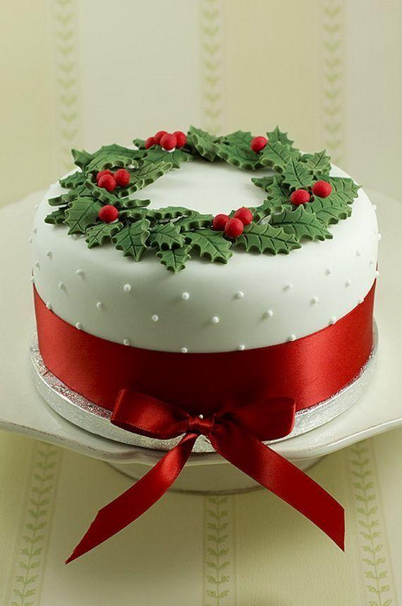 Awesome Christmas Cake Decorating Ideas Colorful