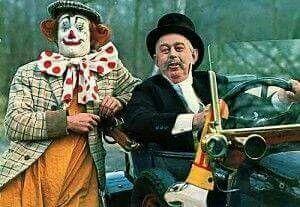 Pipo de clown en dikke deur