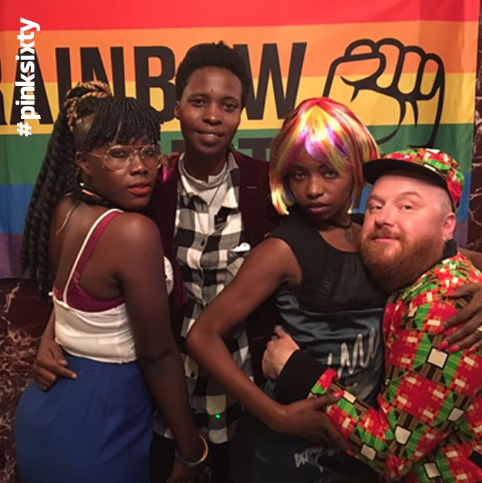 rainbow riots holds Ugandan pride cos they can not