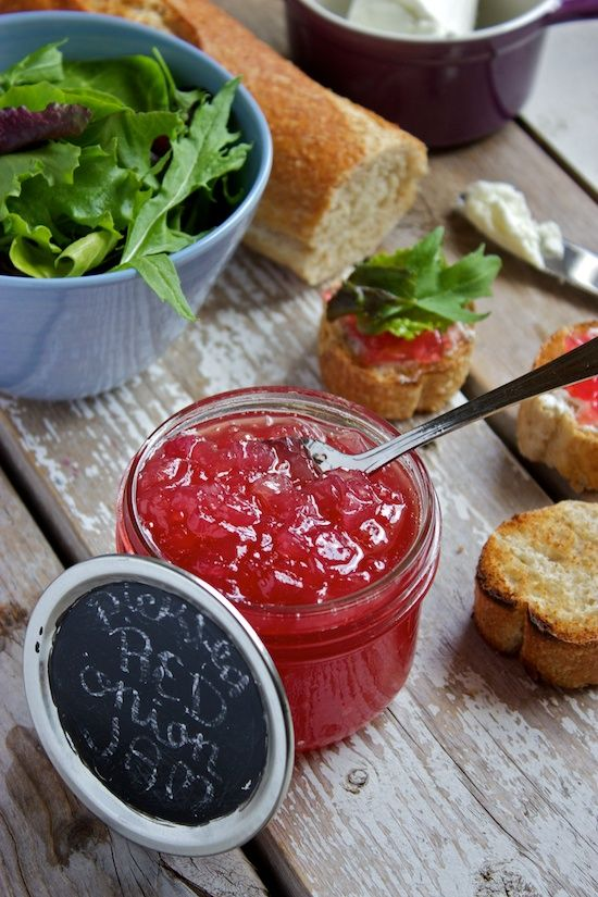 Red Onion Relish http://kitchensimplicity.com/red-onion-relish/