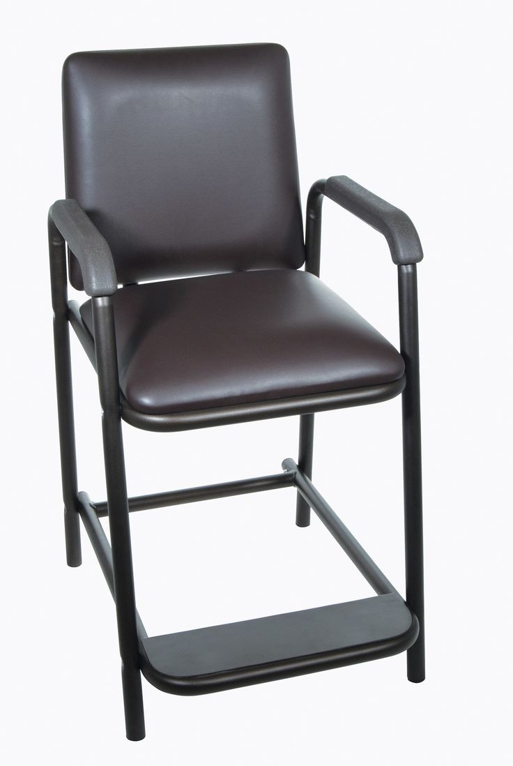 Drive Medical 17100-bv Hip High Chair with Padded Seat. Drive Medical 17100-bv Hip High Chair with Padded Seat  Post-hip surgery residents won't be forced to bend at the hip with this Deluxe Hip-High Chair by Drive Medical, which provides sitting without having to bend at the hips and a comfortable padded seat. Contoured armrests, which are covered in the same soft, attractive vinyl as the seat and backrest, allow you to sit and stand safely. The product is constructed from strong and…
