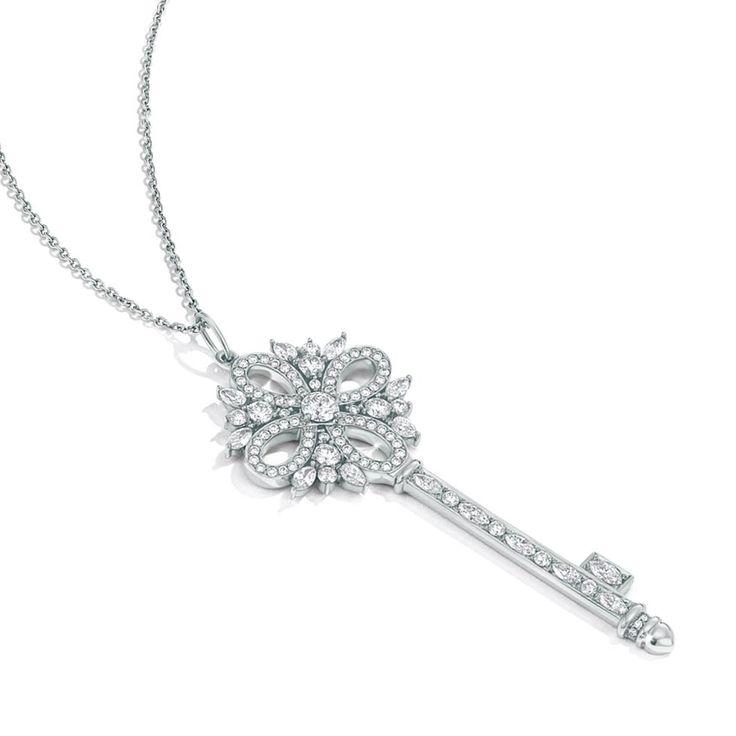 最喜欢的项链  Tiffany Keys
