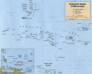 Federated States of Micronesia.