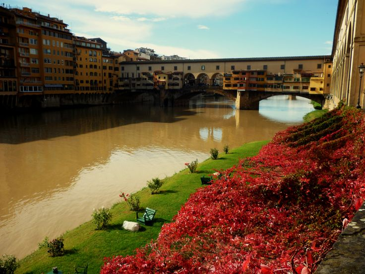 Ponte Vecchio, Firenze, Tuscany, Italy, autumn 2015