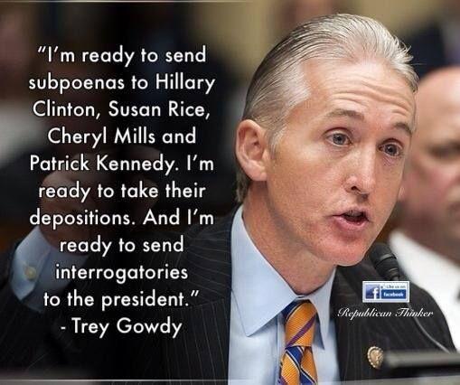 Powerful interview with Republican Congressman, Trey Gowdy #Benghazi http://www.youtube.com/watch?v=Sre99dem2cU
