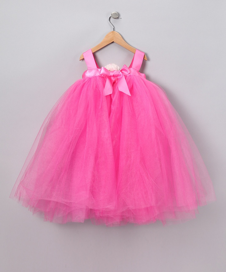 Hot Pink Flora Dress - Infant, Toddler & Girls: Princesses Dresses, Future Wee, Pink Flora, Toddlers Girls, Girls Dresses, Korean Princesses, Flora Dresses, Hot Pink, Girls Clothing
