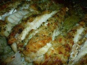 Coda di rospo gratinata al forno