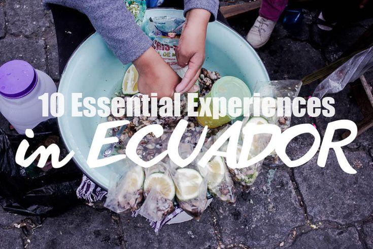 10 Essential Experiences in Ecuador | Travelettes | Bloglovin'
