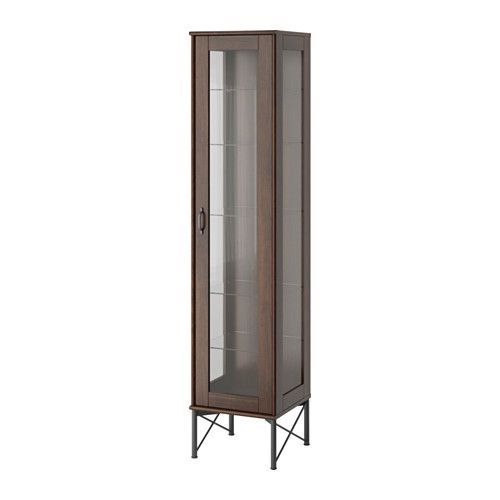 TOCKARP Glass door cabinet  - IKEA