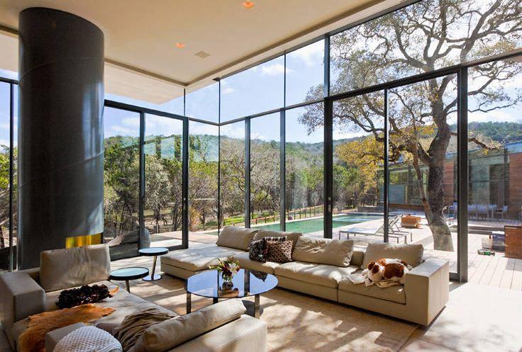 Cascading Creek House in Austin, Texas by Bercy Chen Studio