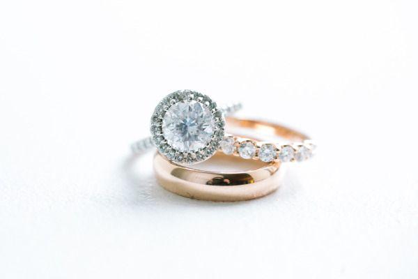 Round cut diamond: www.stylemepretty... | Photography: Caroline Frost - www.caro...