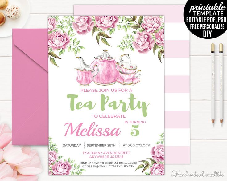 Best Birthday Invitation Templates Images On Pinterest - Free birthday invitation templates editable