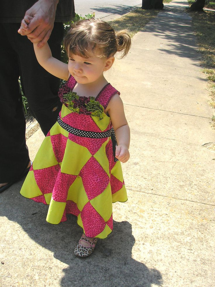 Maelynn's other birthday dress... sans patchwork and ruffles.... add a ruffle at the bottom...?